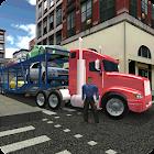 Transport Truck City Cargo icon