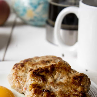 Apple Pork Breakfast Sausage.