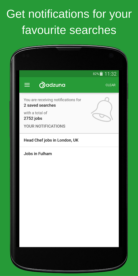 Adzuna Job Search- screenshot