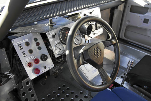 This is not a modern computer- designed race car interior by any stretch. Picture: VOLKSWAGEN