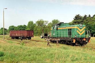 Photo: SM42-458 i wykolejona węglarka {Toruń Północny; 2002-05-10}