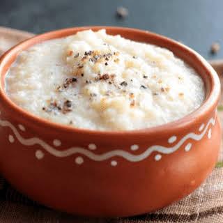 Breakfast Bulgar Pudding / Daliya Phirni.