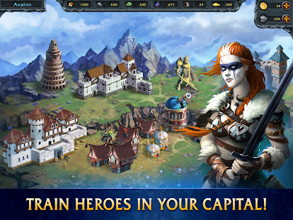 Heroes of War Magic. Turn-based strategy