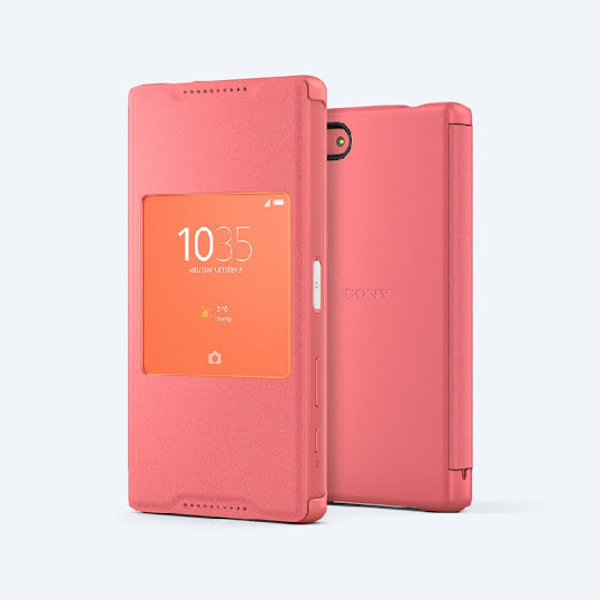 Sony Style Cover Window SCR44 fodral för Sony Xperia Z5 Compact