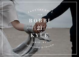 Bobbi & Kyle's Wedding - Save the Date item