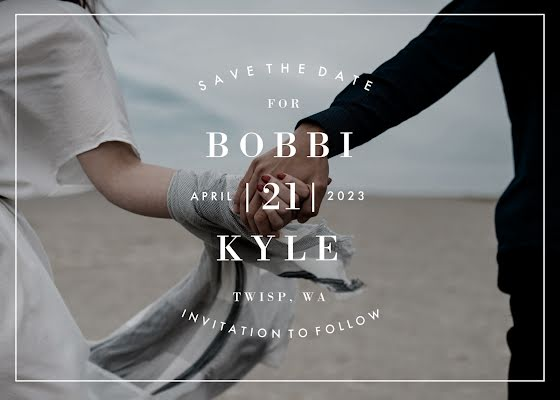 Bobbi & Kyle's Wedding - Wedding Invitation Template