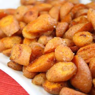 Cumin & Honey Roasted Carrots.