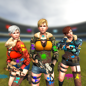 Paintball Girls Arena Shooting 3D Android APK Download Free By Gamevision