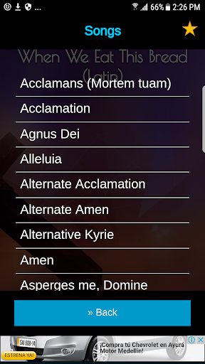Alleluia catholic mass song