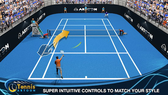 Tennis Multiplayer Capture d'écran