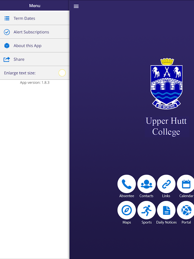 Upper Hutt College- screenshot