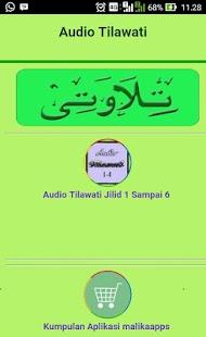 Audio Tilawati Jilid 1 sampai 6 - náhled