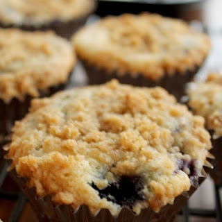 Blueberry Coffee Cake Muffins.