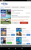 Screenshot of Lonely Planet Magazine India