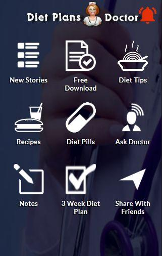 Diet Plans Doctor- screenshot