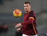 Edin Dzeko blijft langer bij AS Roma voetballen