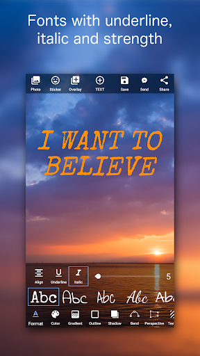 Add Text on Photo: Design Text Style w/ 800+ Fonts 6.0.0 screenshots 2