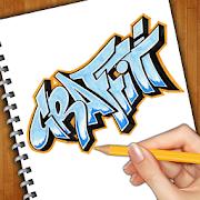 How To Draw Graffiti Art by bhaumik harshadray mehta icon