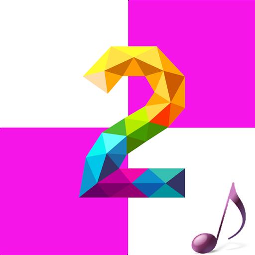 Grand Piano Tiles pink Tiles 街機 App LOGO-APP開箱王