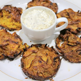 Slimming World Syn Free Baked Onion Bhajis.
