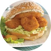 Fried Shrimp Sandwich
