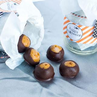 Crunchy Peanut Butter Chocolate Pumpkin Truffles Recipe