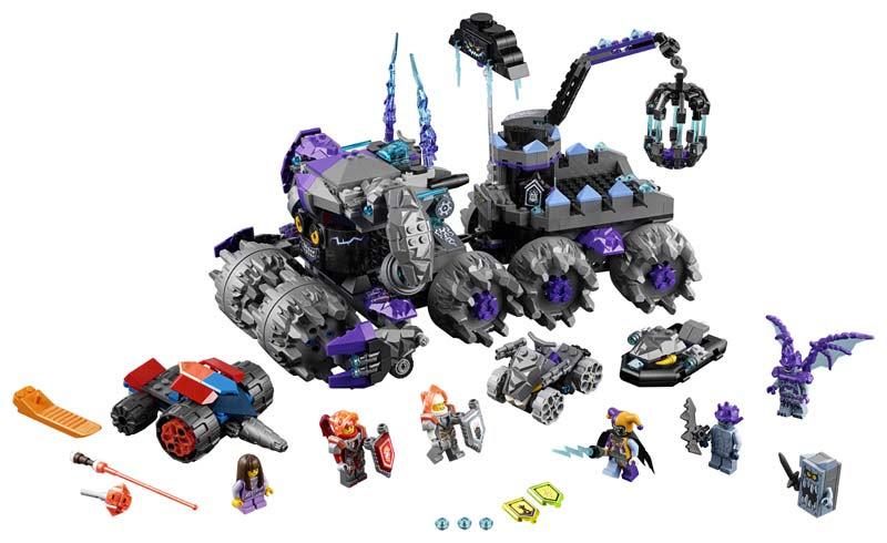 Contenido de Lego® 70352 La Morada de Jestro