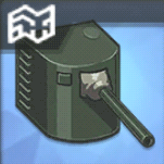 140mm単装砲T3