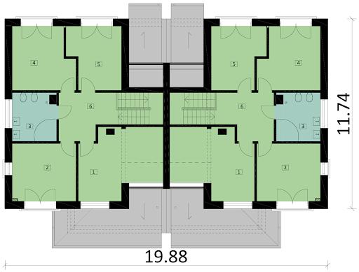 Ka60 B - Rzut piętra