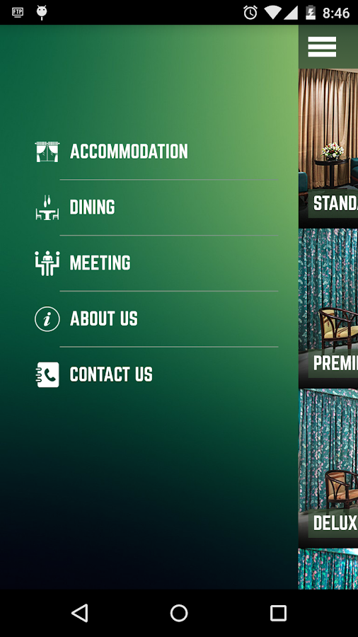 Hotel Purbani- screenshot