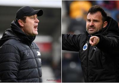 """Deux entraineurs satisfaits après Ostende - Bruges : """"Offensivement, le meilleur match de ces derniers mois"""""""