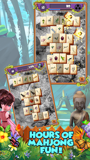 Mahjong Gardens: Butterfly World filehippodl screenshot 6