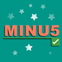 MINU5 - A free playful math logic game icon