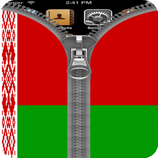 Belarus Flag Zipper Screenlock