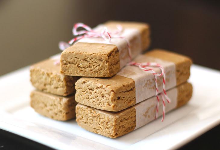 Healthy Homemade Peanut Butter Fudge Protein Bars (Sugar Free, Gluten Free, Vegan) Recipe