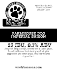 Uncle Bear's Farmhouse Dog Imperial Saison