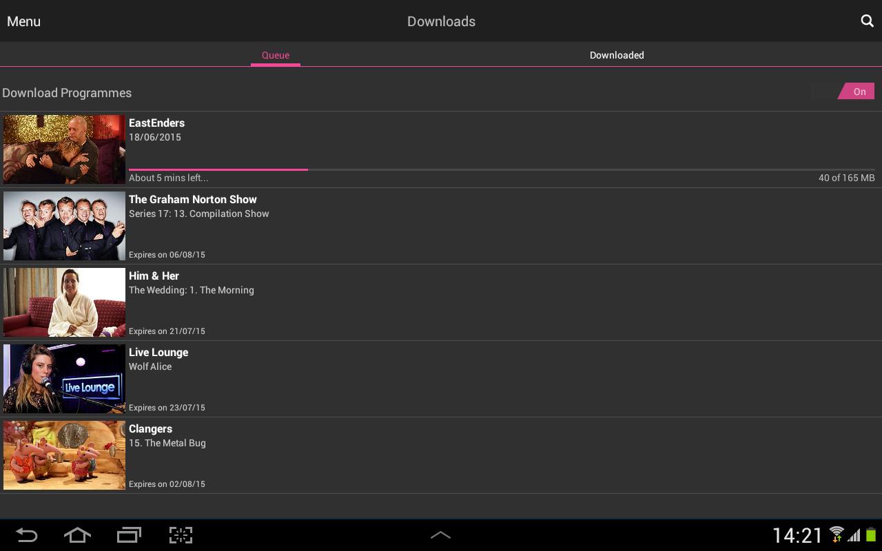 BBC iPlayer screenshot #14