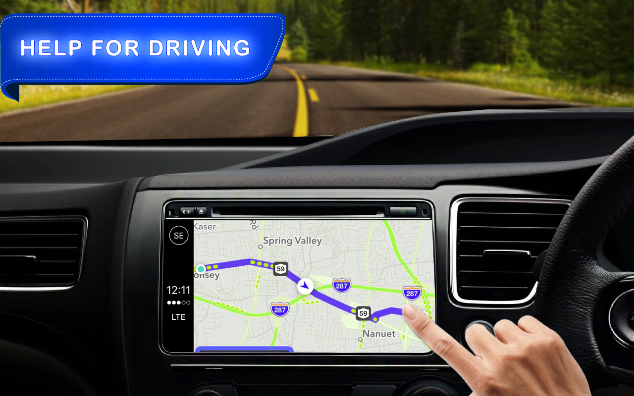 Live Gps Navigation Route Finder Amp Driving Maps Android