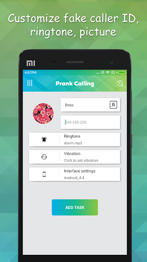 Prank Calling: Fake caller pro v1.1