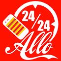 Allo 24/24 à votre service icon