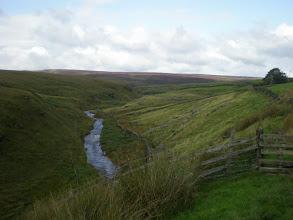 Photo: Looking back towards Graining Water