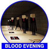 Blood Evening adventure investigation map for MCPE