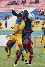 Photo: [Mauritius V Rwanda, AFCON 2017 Qualifier, 26 March 2016 in Mauritius.  Photo © Darren McKinstry 2016, www.XtraTimeSports.net]