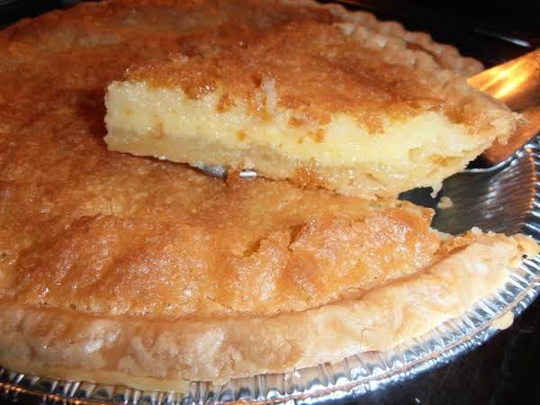 Janet S Buttermilk Pie Just A Pinch Recipe Recipes