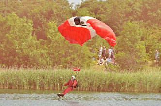 Photo: First Red Devil Drops In