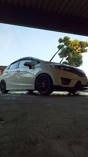 フィット RS洗車の画像