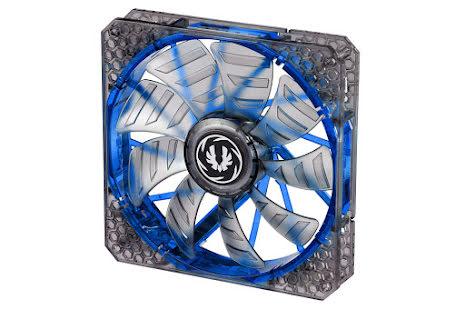 Bitfenix vifte m/blå LED, Spectre PRO, 140x25