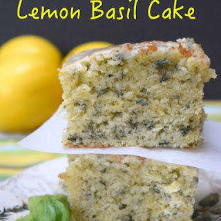 Lemon Basil Cake.