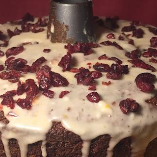 Spiced Cranberry Orange Cake.