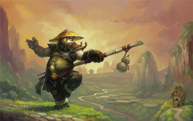 Pandaren Monk Themes & New Tab
